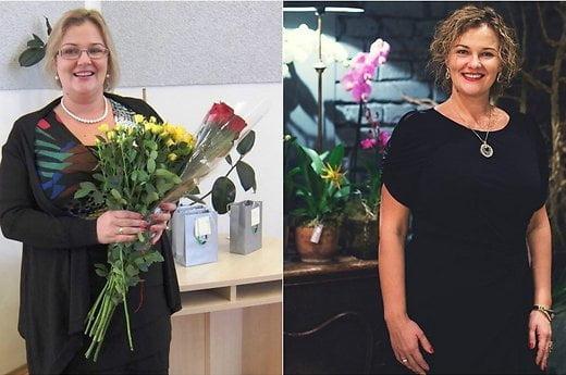 Per pusmetį 24 kg atsikračiusi Viktorija šypsosi sunku nebuvo svoris tiesiog tirpo