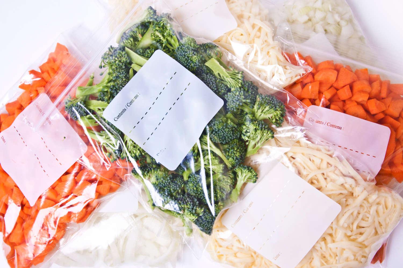 Daržovių šaldymas - kaip išsaugoti daugiausia vitaminų