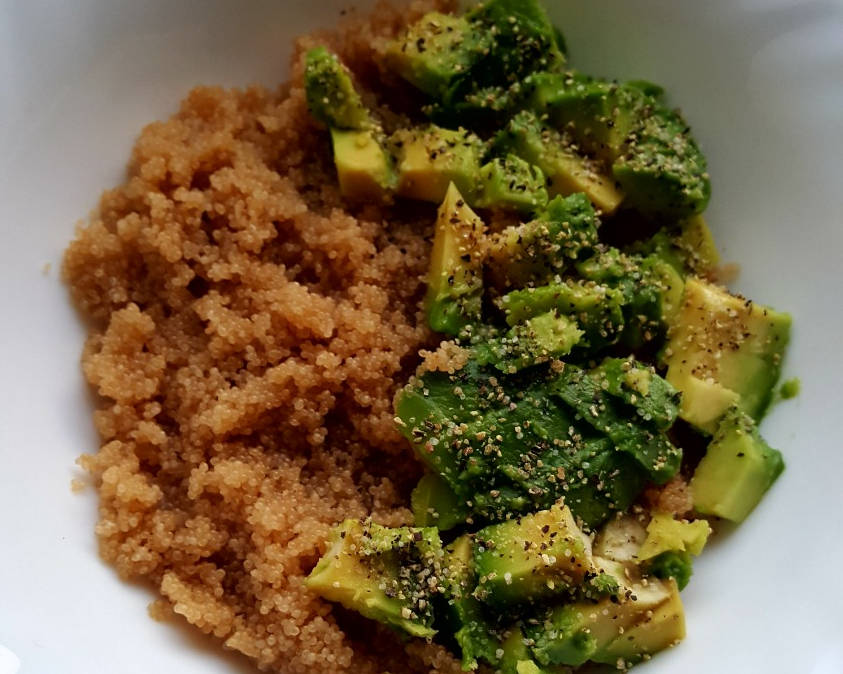 Burnočio košė su avokadu pusryčiams - sveiki receptai