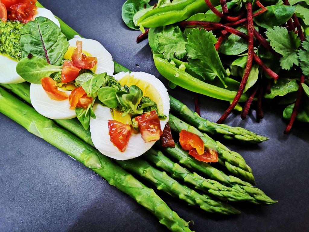 Virti kiaušiniai su smidrais