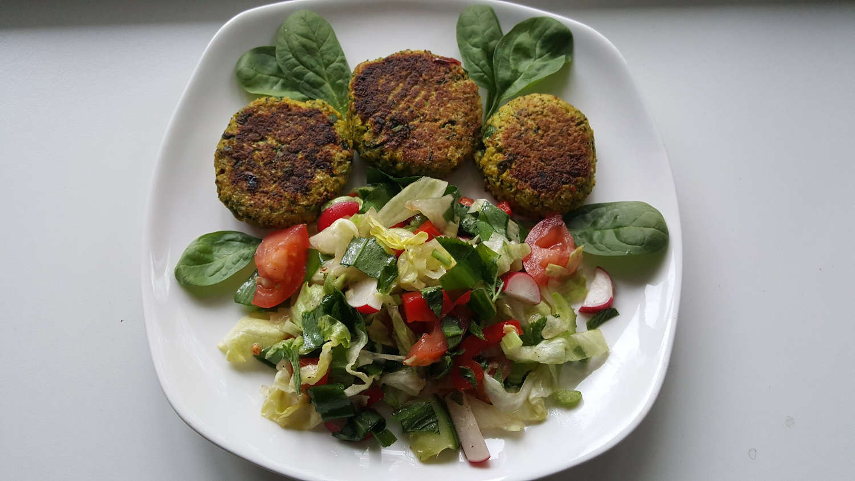 Žiedinio kopūsto, brokolio kotletukai