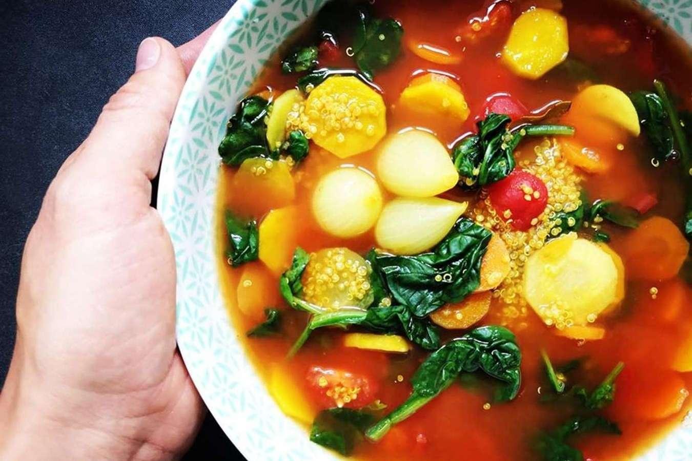 Bolivinės balandos pomidorinė sriuba