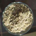 Druska su priedais: saulėgrąžos, moliūgų sėklos, kanapės