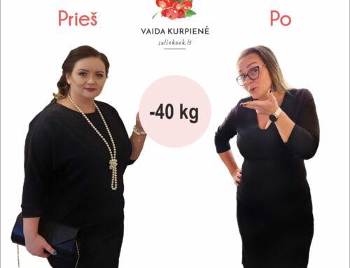Tikra istorija kaip sveikai numesti svorio ir vilkėti 14 dydžių mažesnius drabužius