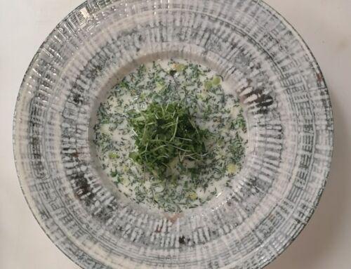 Gaivi agurkų šaltsriubė
