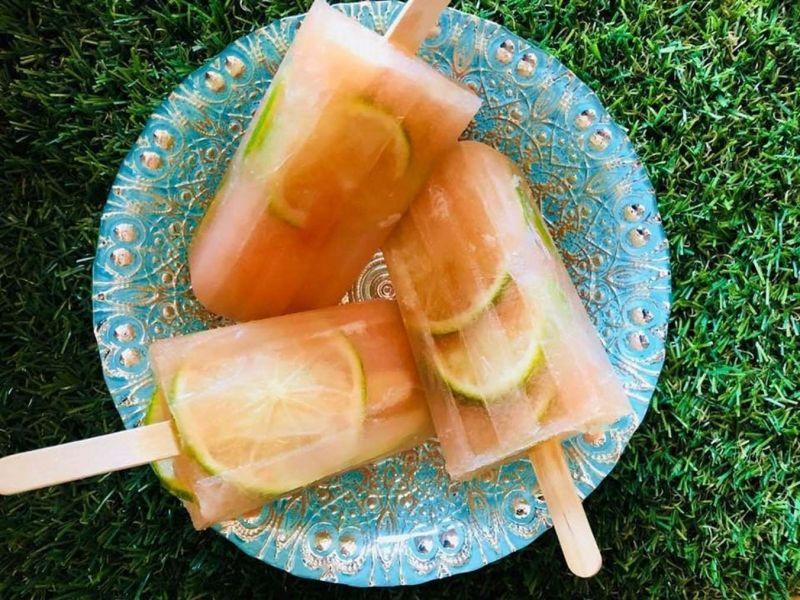 Citrusinių vaisių ledai
