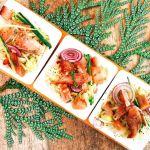Silkė su ridiku ir cukinija (iš sezoninio mitybos plano)